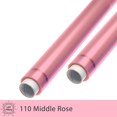 LEE Filters 110 Middle Rose