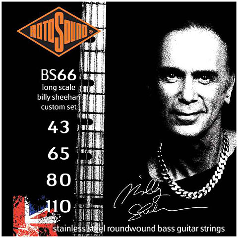 Rotosound Signature BS66 Billy Sheehan