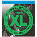 Saiten E-Bass D'Addario EXL220 Nickel Wound .040-095