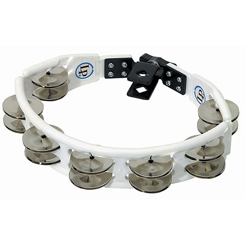 Latin Percussion Cyclop LP162 Steel Jingles Mountable Tambourine