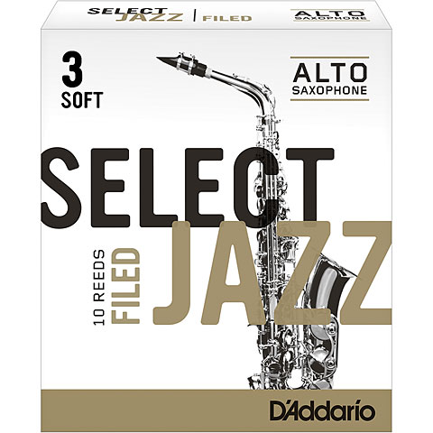 D'Addario Select Jazz Filed Alto Sax 3S