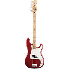 Fender Standard Precision Bass MN Candy Apple Red « E-Bass