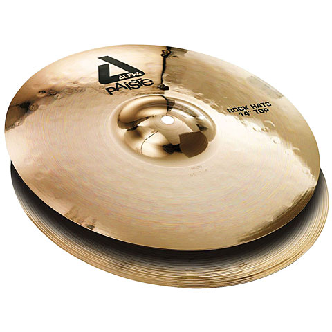 Paiste Alpha Brilliant 14  Rock HiHat