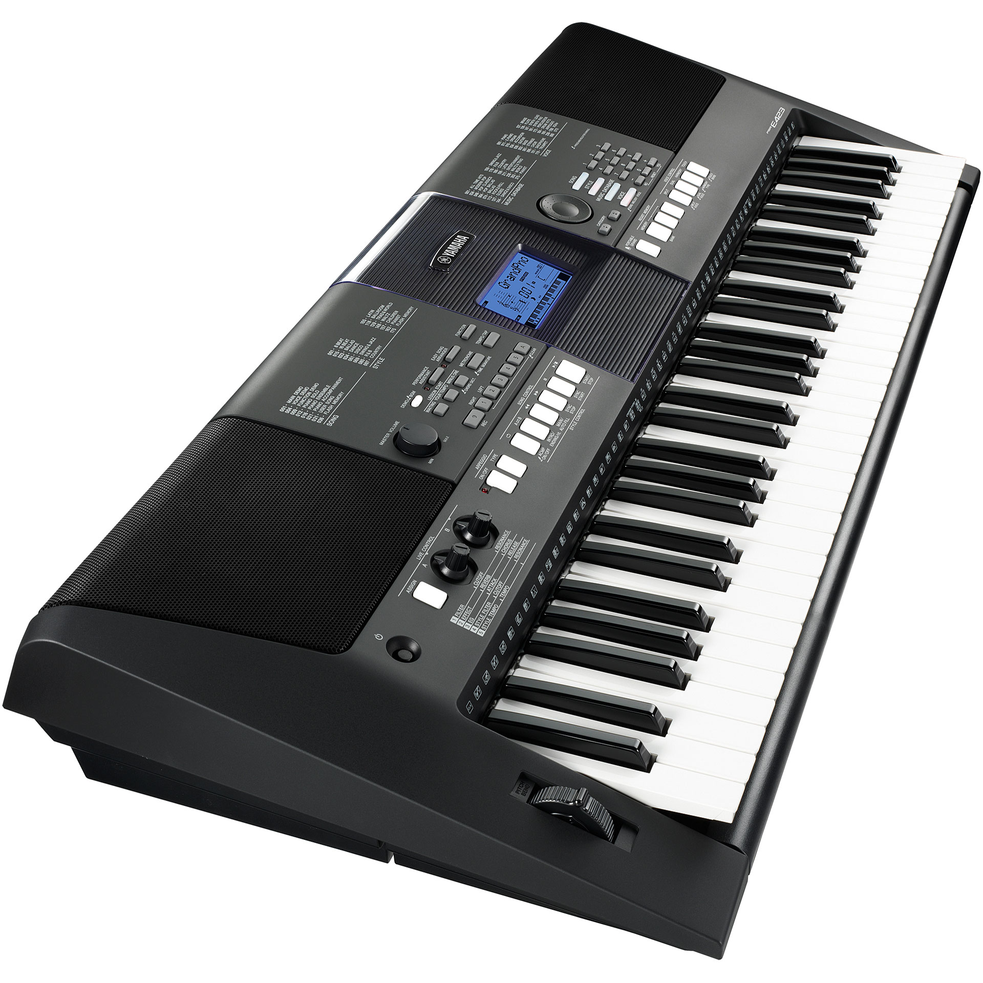 yamaha psr e423 keyboard. Black Bedroom Furniture Sets. Home Design Ideas