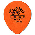 Plektrum Dunlop Tortex TearDrop 0,60mm (72Stck)