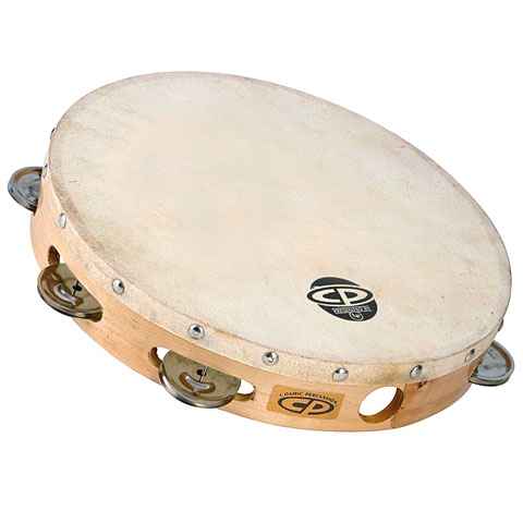 Latin Percussion CP CP379 Wood Headed Tambourine