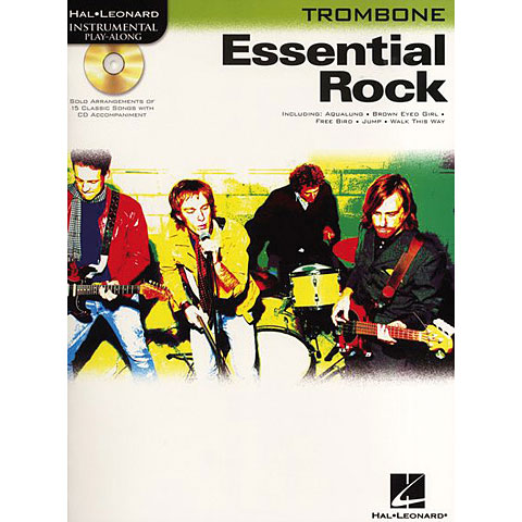 Hal Leonard Essential Rock for Trombone