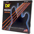 Saiten E-Bass DR Neon Orange Medium