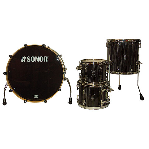Sonor ProLite PL 12 Studio1 Ebony White Stripes