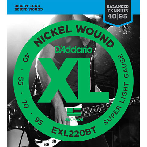 D'Addario EXL220BT Nickel Wound .040-095