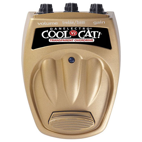 Danelectro CTO-2 Cool Cat Transparent Overdrive V2