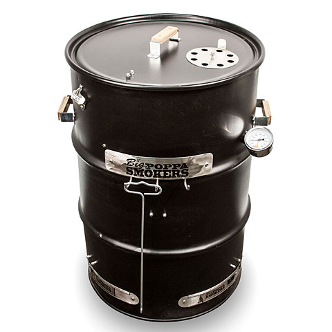 Big Poppa Smokers BPS Drum Smoker Kit