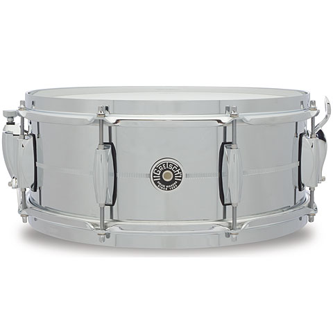 Gretsch USA Brooklyn 14  x 5,5  Chrome over Steel Snare