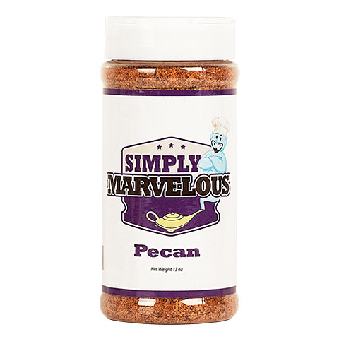 Simply Marvelous Pecan Rub 13 oz/368 g