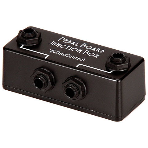 One Control Pedal Board Junction Box