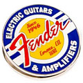Geschenkartikel Fender Magnet Clip Guitars and Amps Logo