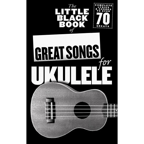 Music Sales The Little Black Book of Great Songs for Ukulele