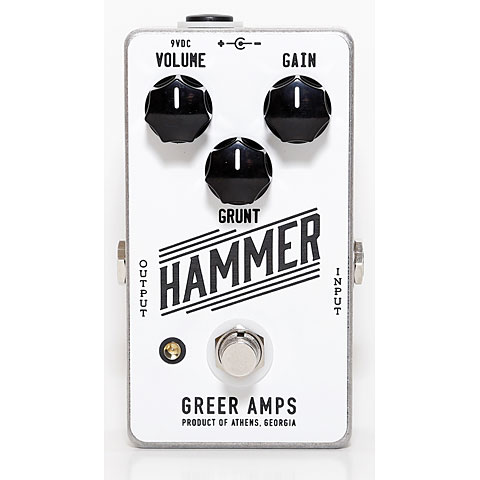 Greer Amps Hammer