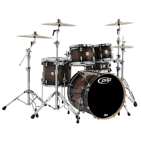 pdp Concept Maple CM5 Charcoal Burst over Walnut