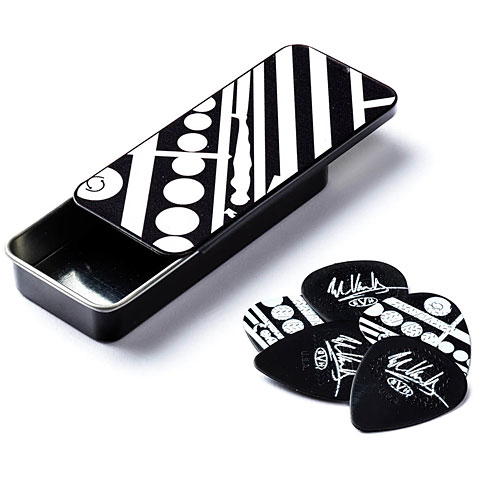Dunlop EVH  Circle  Pick Tin, 6 pcs