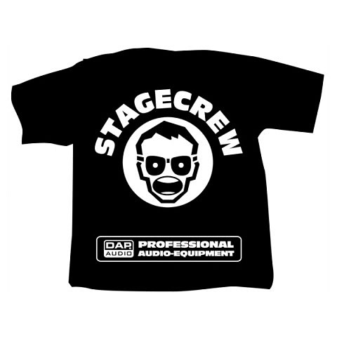 Showtec DAP T-Shirt Stagecrew