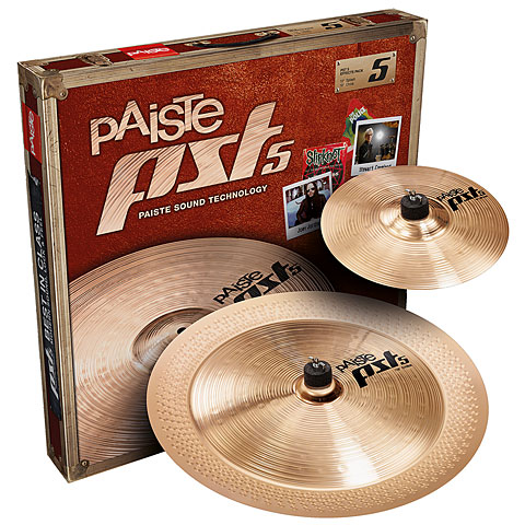 Paiste PST 5 Effects Pack 10/18 Becken-Set