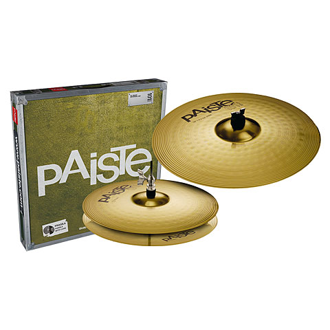 Paiste 101 Brass Essential 13/18 Becken-Set
