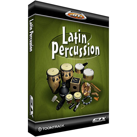 Toontrack Latin Percussion EZX