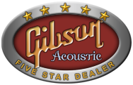 Gibson Acoustic Five Star Dealer