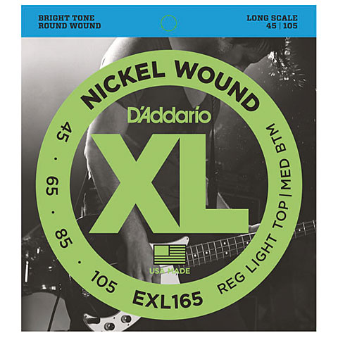 D'Addario EXL165 Nickel Wound .045-105