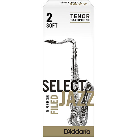 D'Addario Select Jazz Filed Tenor Sax 2S