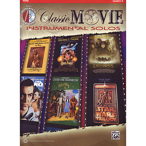 Alfred KDM Classic Movie Instrumental Solos