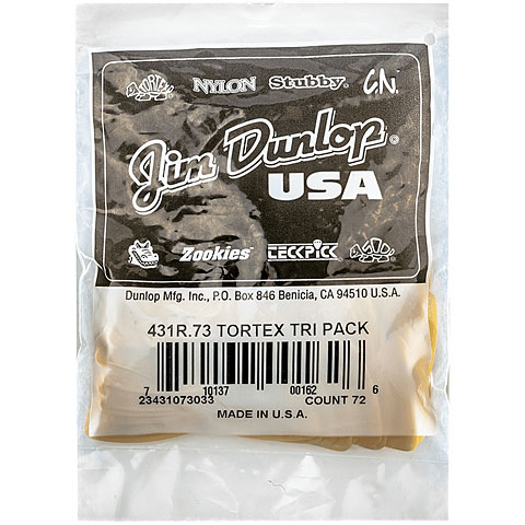 Dunlop Tortex Triangle 0,73mm (72Stck)