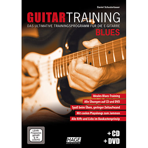 Hage Guitar Training Blues