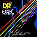 Saiten E-Gitarre DR NEON Hi-Def MULTI-COLOR Medium