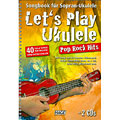 Notenbuch Hage Let's Play Ukulele Pop Rock Hits