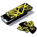 Plektrum Dunlop EVH Black with Yellow Stripes