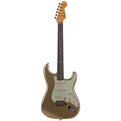 Fender Custom Shop 1964 Stratocaster Gold Sparkle « E-Gitarre