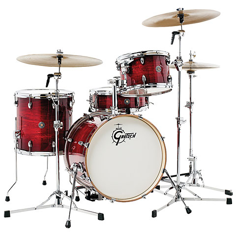 Gretsch Catalina Club 18  Gloss Crimson Burst Drumset