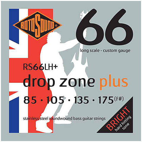 Rotosound drop zone RS66LH+