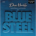Saiten E-Bass Dean Markley 2680 5MED 50-128 Blue Steel Bass