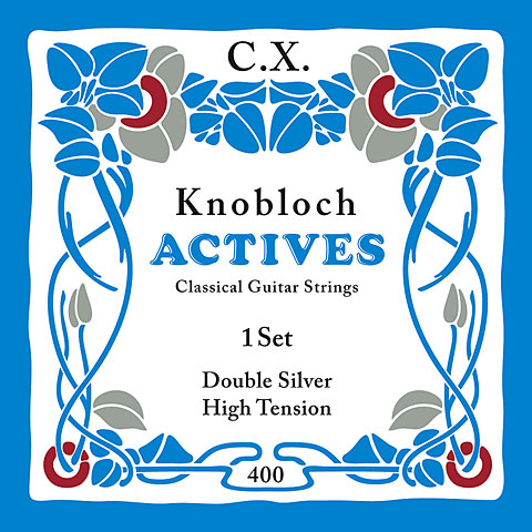 Knobloch Strings Double Silver Carbon 400KAC HT