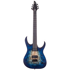 Mayones Duvell Elite 6 Natural Blue Burst Out « E-Gitarre