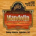 GHS A260 Phosphor Bronze Mandolin Strings « Saiten Zupfinstrument