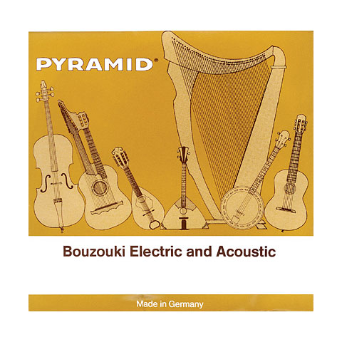 Pyramid Bouzouki,gleichtönig,Ball-End