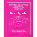 Lehrbuch Agostini Methode de Batterie Vol.1 - Solfege Batterie