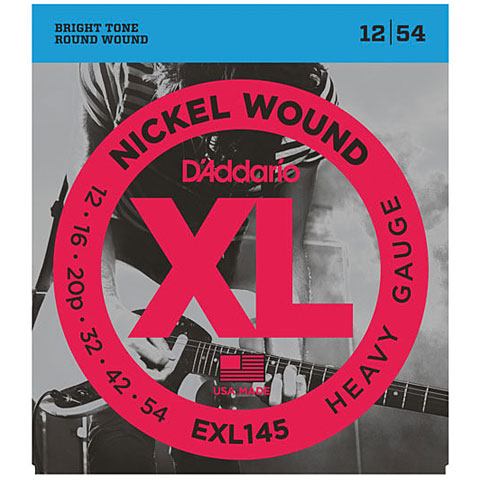 D'Addario EXL145 Nickel Wound .012-054