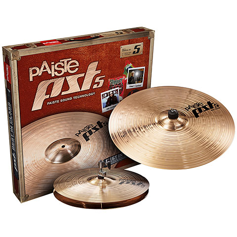 Paiste PST 5 Essential 13/18 Becken-Set