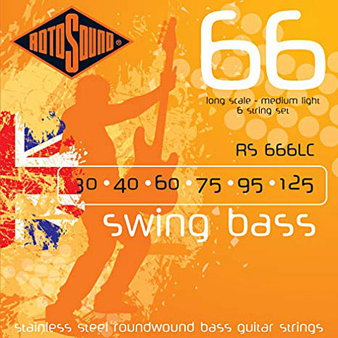 Rotosound Swingbass RS666LC