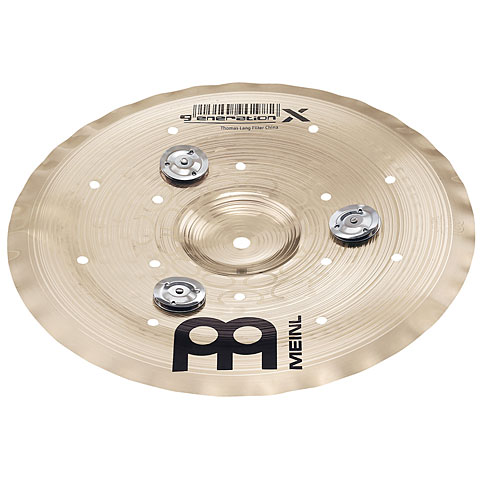 Meinl 10  Generation X Jingle Filter China
